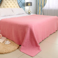 King Size Bloemen Embossed Peach Blanket Gooi