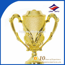 Most popular trophy cheap plastic golden trophy