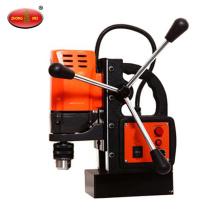 Máquina de perfuração de placa de aço magnética elétrica portátil