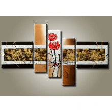 Stretched Canvas All Decor Abstract Oil Painting
