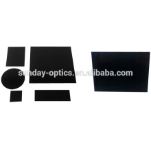 Filtro de vidro infravermelho óptico HWB760 HWB800 HWB900 HWB930 do IR