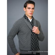 100% кашемирский мужской шарф