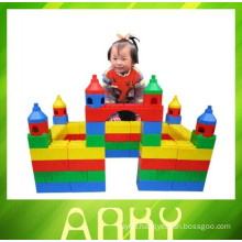 Children Plastic Particles Building Blocks