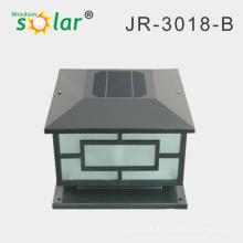 dekorative Außenleuchten solar, solar Wandleuchte, solar Säule Licht mit CE RoHS