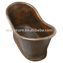 hotel decoration/ antique copper bathtubs