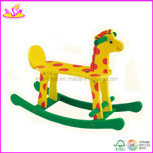 Wooden Ride on Rocking Horse (W16D025)