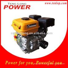 China OHV motor de gasolina 6.5hp, Motor de gasolina con reductor