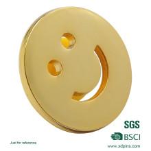 Pin de lapela de sorriso por atacado de metal (XD-03132)