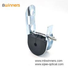 FACH-BW-14 Cable de cable de poste de caída de fibra óptica ajustable ADSS Abrazadera de cable de puente colgante