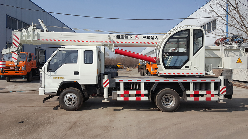 truck crane lifting capacity
