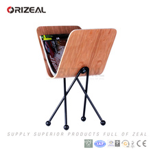plywood magazine rack desk organizer(OZ-PA1002)