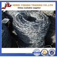 Largement utilisé dans de nombreux champs de bonne qualité Fil de bobine de fer barbelé
