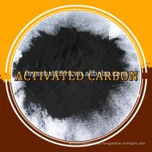 Carbono ativado em pó de carvão para ácido cítrico e sal na indústria de alimentos