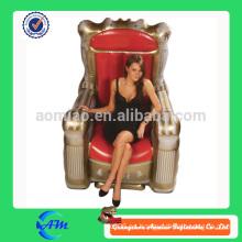 Modelo inflable inflable de la flor de la publicidad de lujo / del trono para la publicidad
