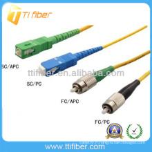 SC-FC Connecteur de cordon de connexion à fibre optique