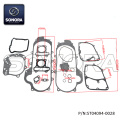 GY6-50 139QMA DICHTUNGSSATZ mit Gummidichtung für 39-MM-Motorgehäuse (P / N: ST04094-0028) Top-Qualität