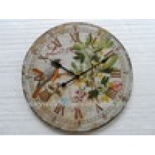 Beautiful Art Antique Decorative Metal Wall Clock