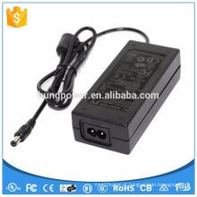 Fonte de alimentação ac adapter class 2 UL 12v 5a doe 6 ul led power driver