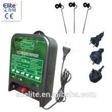 Électrificateur de clôture électronique el200leds / électrificateur de clôture pour les grands ranchs