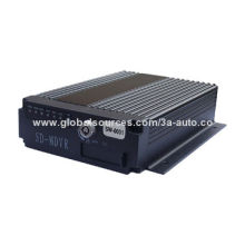 4-channel Hard Disk SD Card 3G/4G Mobile DVR with Wi-Fi GPS, OEM Orders Welcomed