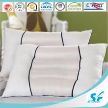Kissenbezug aus 100 % Baumwolle Jacquard in einfarbig weiß White