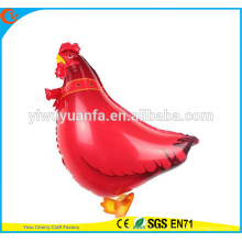 Hot Sell Walking Animal Balloon Toy Foil Balloon Cock for Kid's Gift