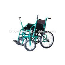 China Lieferanten Rollstühle für Behinderte mit einem Arm fahren