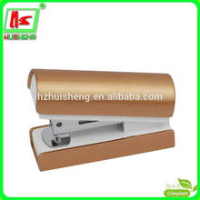2016NEW Mini Shining gold Plastic Stapler