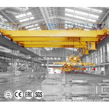 20T Overhead Bridge Crane with Magnetic Spreader