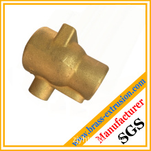 brass copper hot extrusion forgings hot pressing stamping parts for pipes, valves, gears