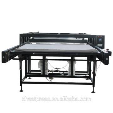 FJXHB4 estaciones dobles de 1100x1700 sublimación de gran formato prensa de calor
