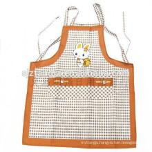 Eco-friendly cheap kitchen aprons, kitchen cooking bib apron, women's apron