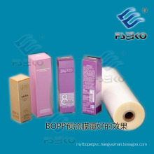 Normal BOPP Thermal Laminating Film with EVA Glue for Offset Printing-27mic Gloss