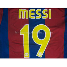 #19 MESSI 07/08 New BARCELONA HOME Soccer Jersey