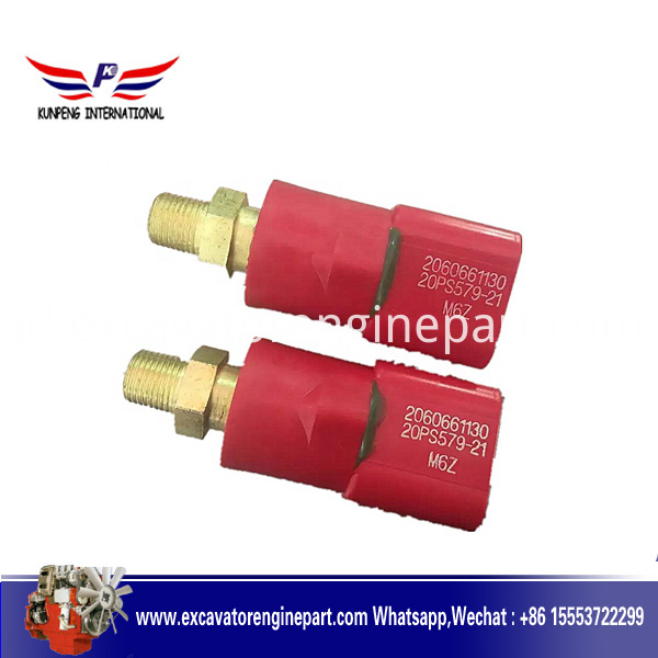 Pressure switch used in excavator parts loader accessories 206-06-61130