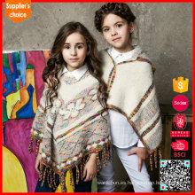 Nueva chaqueta de cachemira sin mangas del puente del suéter de la cachemira de las muchachas del diseño