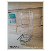 Logistic Trolley with Three Doors for Warehouse and Transporting