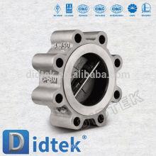 Детектор обратного клапана с пластинчатым обратным клапаном Didtek Non Slam