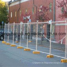 Niedriger Preis Australien temporärer Zaun / bewegliches Metallfechten / galvanisierte vorübergehende Zaun-Platten