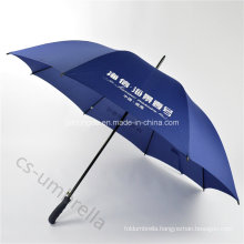 Pure Blue 27 Inches Promotion and Advertising Golf Umbrella (YSS0113)