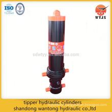 dump truck telescopic hydraulic cylinder