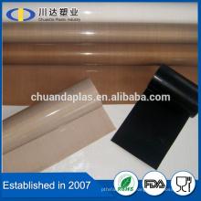 Vente en gros Tissu en verre traité en PTFE de haute qualité Tissu en verre revêtu de PTFE