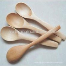 Logo personalizado cuchara de sopa de madera