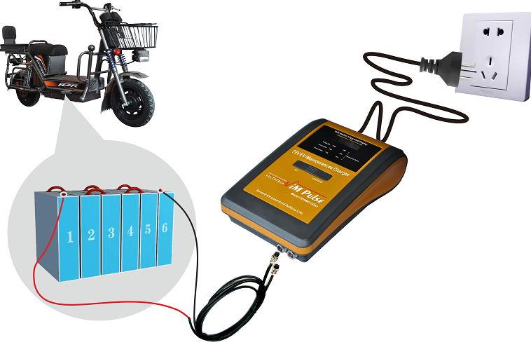 Battery Smart Pulse Charging Restorer