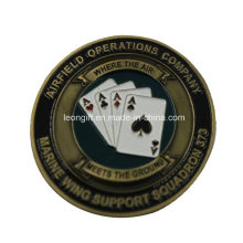 Popular Fashion Poker Challenge Coin Wholesale