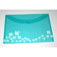 Colored PP Clear File Bag (NO. PPB-021)