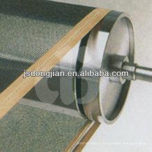 Bandage convoyeur à maille en fibre de verre autocollant en PTFE
