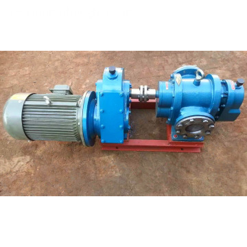 LC series high viscosity fluid transfer pumps heat insulation bitumen gear pump