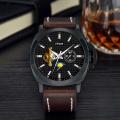 custom printed strap novelty item brand cheap mechanical men watches