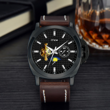 custom printed strap novelty item brand cheap mechanical men watches